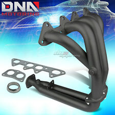 BLACK CERAMIC COATED 4-2-1 HEADER FOR 94-97 ACCORD 2.2L 4CYL CD EXHAUST/MANIFOLD