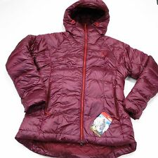 $349 North Face WOMEN'S IMMACULATOR PARKA (800 Fill) Medium Garnet Red NEW