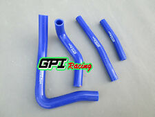 BLUE silicone radiator hose FOR Suzuki RM250 RM 250 1996-2000 1997 1998 1999