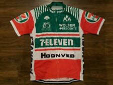 Brand New In Pack Retro Style 7-Eleven Merckx Cycle Jersey Size Large