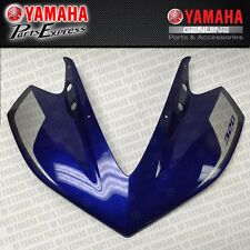 NEW 2015 YAMAHA YZF R3 YZFR3 FRONT UPPER COWLING FAIRING BLUE 1WD-XF83F-40-P1