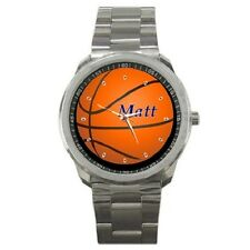 BASKETBALL PERSONALISED SPORTS WATCH ***ANY NAME YOU WANT***
