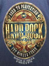 New Hard Rock Cafe Authentic Rock N Roll Forever T-Shirt Color Blue Mens Size M