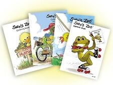 Suzy's Zoo Coloring Book 4-pack