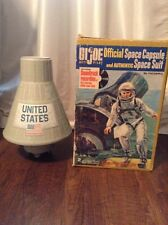 Vintage 1966 Hasbro GI Joe Official Space Capsule With Original HASBRO Box