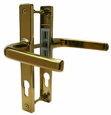 Ferco 70mm PVD Gold UPVC Sprung Door Handle Set Lever Pair Handles..