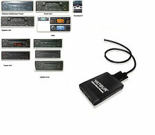 USB SDHC Adaptador AUX IN MP3 cambiador de CD Renault Scenic 2 II 2003-2008