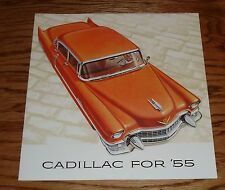 1955 Cadillac Full Line Sales Brochure 55 60 Special 62 Coupe Sedan