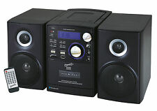 Supersonic SC-807 Portable Audio System W/ MP3 / CD Player Bluetooth USB SD