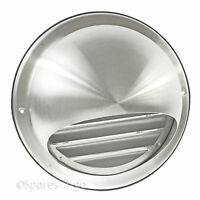 Stainless Steel Wall Air Vent Tumble Dryer Extractor Bull Nose Insect Mesh 150mm