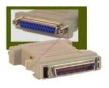 Lot50 50pin SCSI2 Male Plug~DB25 Female Jack, cable/cord/wire Adapter PC/SUN/MAC