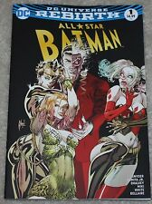 ALL STAR BATMAN 1 GUILLEM MARCH RETAILER VARIANT DC REBIRTH SIRENS HARLEY QUINN