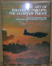 The Art of William S. Phillips The Glory of Flight-1st Ed/DJ-1994-Stephen Coonts