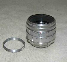 Helios 44 13 blades 0086437 2/58 Old Rare Silver Russian USSR lens SLR M39 М42