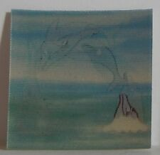 VINTAGE 1970 CRACKER JACK TILT CARD FLICKER TO AND FRO DOLPHINS JUMPING