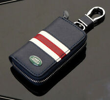 High-grade Leather Car Remote Key Chain Holder Case Bag Fit For Land rover Auto