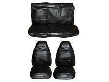 PG Classic 5504C-BUK-100 1970Barracuda Cuda Convertible Bucket Seat Cover(Black)