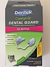 New DenTek Comfort Fit Dental Guard kit