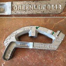 """GREENLEE 8842 PIPE / TUBE BENDER - 1"""" EMT - 3/4"""" RIGID - USA"""