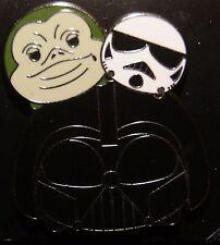 Disney Tsum Tsum Slider Series Star Wars Darth Vader Boba Fett Pin