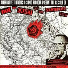 Not So Quiet On The Western Front 2x Vinyl LP Record! dead kennedys mdc flipper!