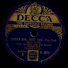 SPIKE HUGHES NEGRO ORCHESTRA Sweet Sue, just you / How come you do like me  X671