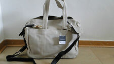 TOPSHOP Leather Holdall Bag ecru Brand new with tags