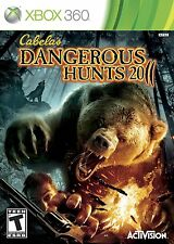 Xbox 360 Game Cabelas Cabela's Dangerous Hunts 2011 11 NEW
