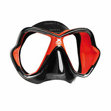 Mares X-Vision Ultra Liquidskin Scuba Diving Snorkeling Mask Red/Black