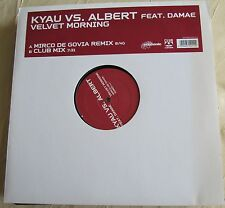 "Schallplatte Vinyl Maxi-Single Kyau vs.Albert feat.Damae ""Velvet Morning"""