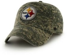 Pittsburgh Steelers '47 Brand Digital Camo Officer Clean Up Adjustable Hat
