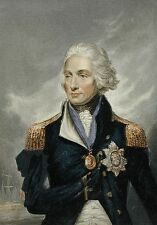 Lord Nelson Horatio Portrait George Baxter 1853 Royal Navy  7x5 Inch Print