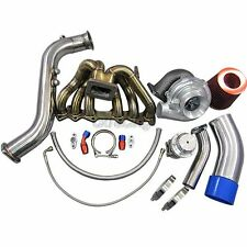 GT35 Turbo Kit Manifold Downpipe Air Intake For 1JZGTE 1JZ-GTE GS300 SC300 Supra