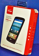 BRAND NEW LG optimus ZONE 3 (VERIZON PREPAID) 4G LTE SMARTPHONE