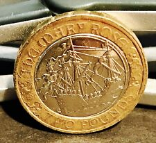 2011 £2 COIN MARY ROSE 500TH ANNIVERSARY RARE TWO POUNDS (AAA)