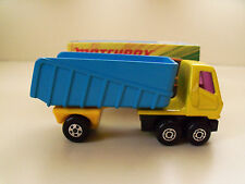 """NEW MATCHBOX SUPERFAST NO. 50  """"ARTICULATED TRUCK"""" WITH BOX"""