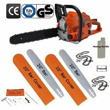 "20"" Petrol Chainsaw Brand New Complete With 2 Bars, 2 Chains And More"