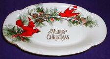 Merry Christmas CARDINALS Candy Dish Japan