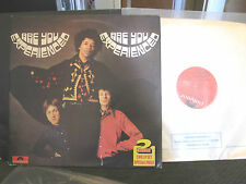 JIMI HENDRIX are you experienced / axis: bold as love polydor uk 2 lp double oop
