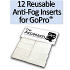 Anti-Fog Inserts compatible with all GoPro® cameras - LIFETIME SUPPLY