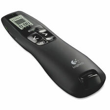 30m Logitech R800 Professional Wireless Presenter Green Laser Pointer LCD Timer