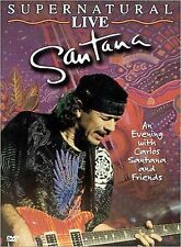 Santana - Supernatural Live (DVD, 2000) Arista Records, Carlos Santana