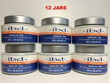 12 PACKS - IBD Builder Gel  UV PINK - 2oz / 56g - Strong UV Gel