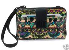 NWT Sakroots Smartphone Wristlet Wallet Crossbody Radiant One World fit iPhone 7