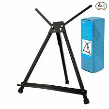 4PK US Art Supply Table Top Aluminum Artist & Display Easel (Large - Double Arm)