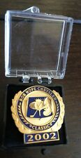 2002 Bob Hope Chrysler Classic Golf Pin Phil Mickelson Wins!