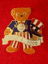 HRC Hard Rock Cafe Yokohama 4th July 2000 Bear Herrington LE500