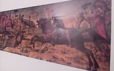 St. George and the Dragon/Vittore Carpaccio Poster/Druck A 3 aus Florenz