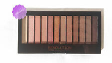 Revolution MakeUp 12 eyeshadow palette 'Iconic 3' Smokey Naked Nude eyes