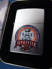 ZIPPO LIGHTER NHL 2002 EASTERN WESTERN CONFERANCE STANLEY CUP CHAMPIONS COLLECT